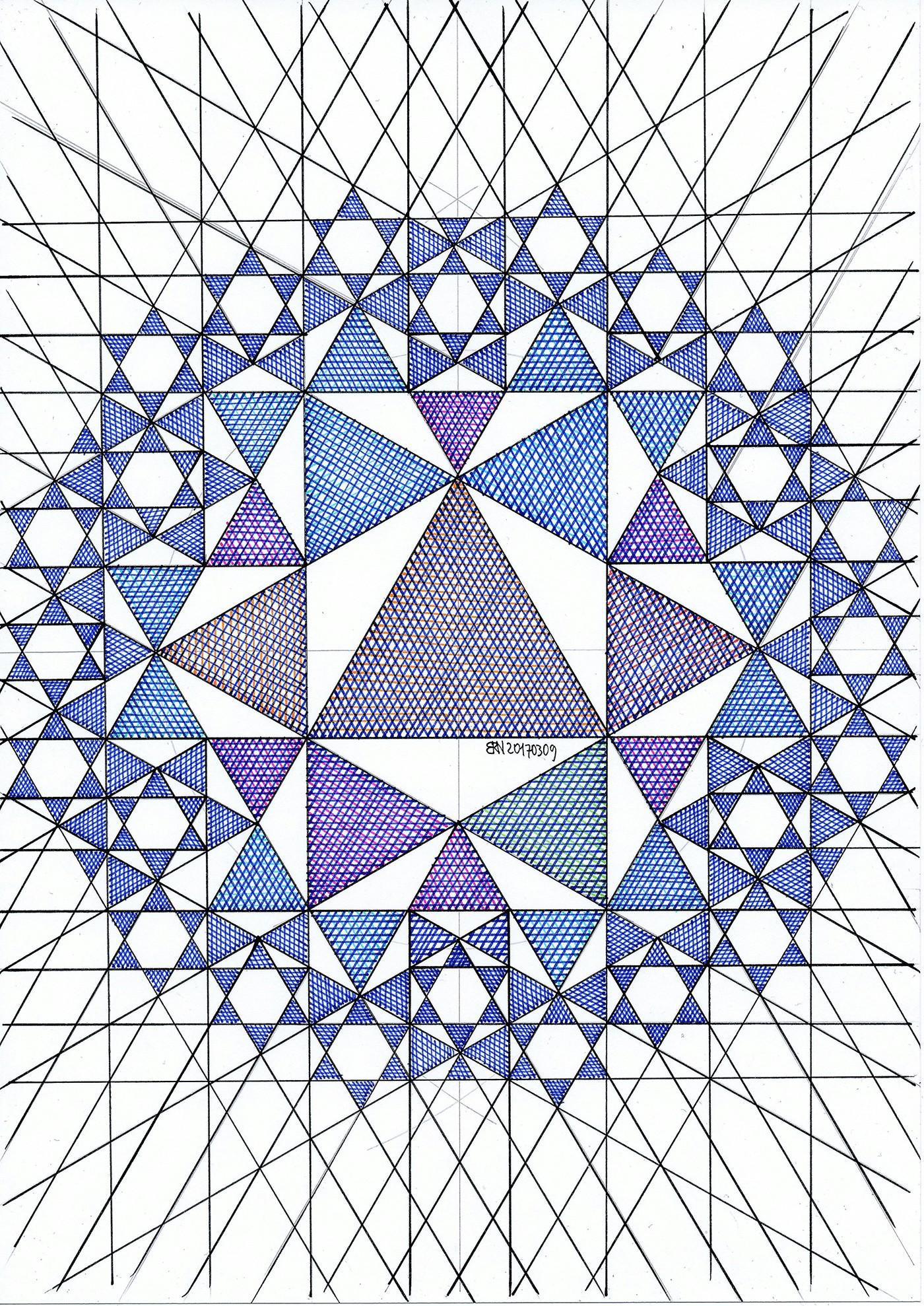 10 geometric art explorations for math learning - 736×1039