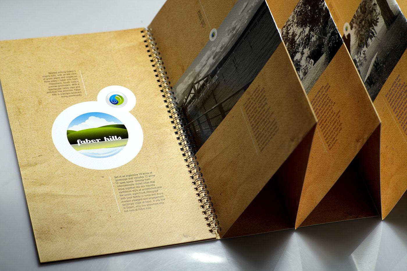 brochure realestate real estate mah mah design strategy innovative brochure Vijay Shanthi