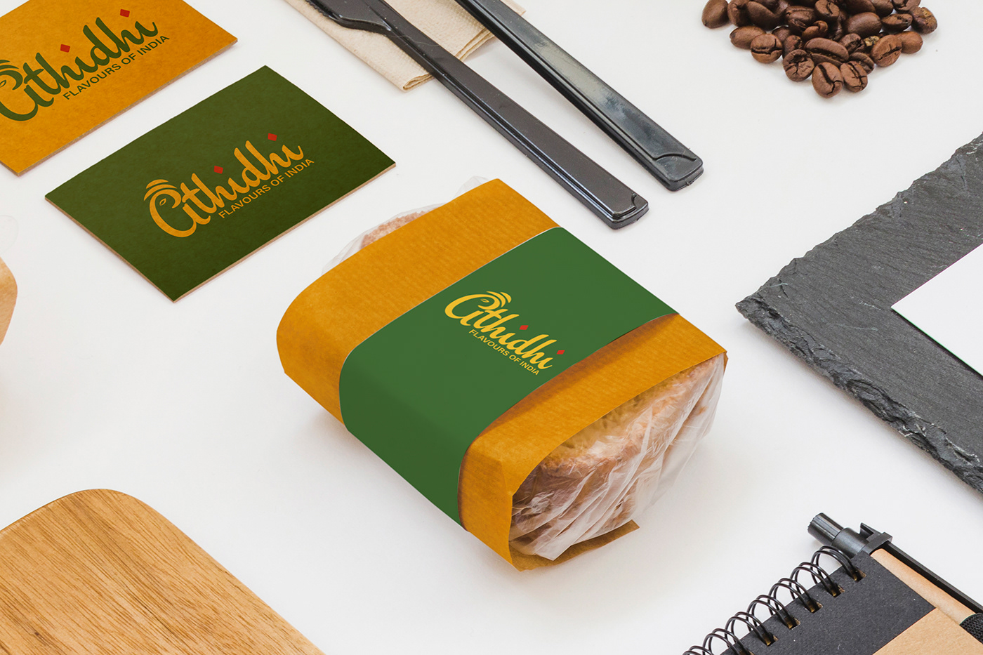 Packaging Sleeve for Athidhi - Indian Restaurant in Germany