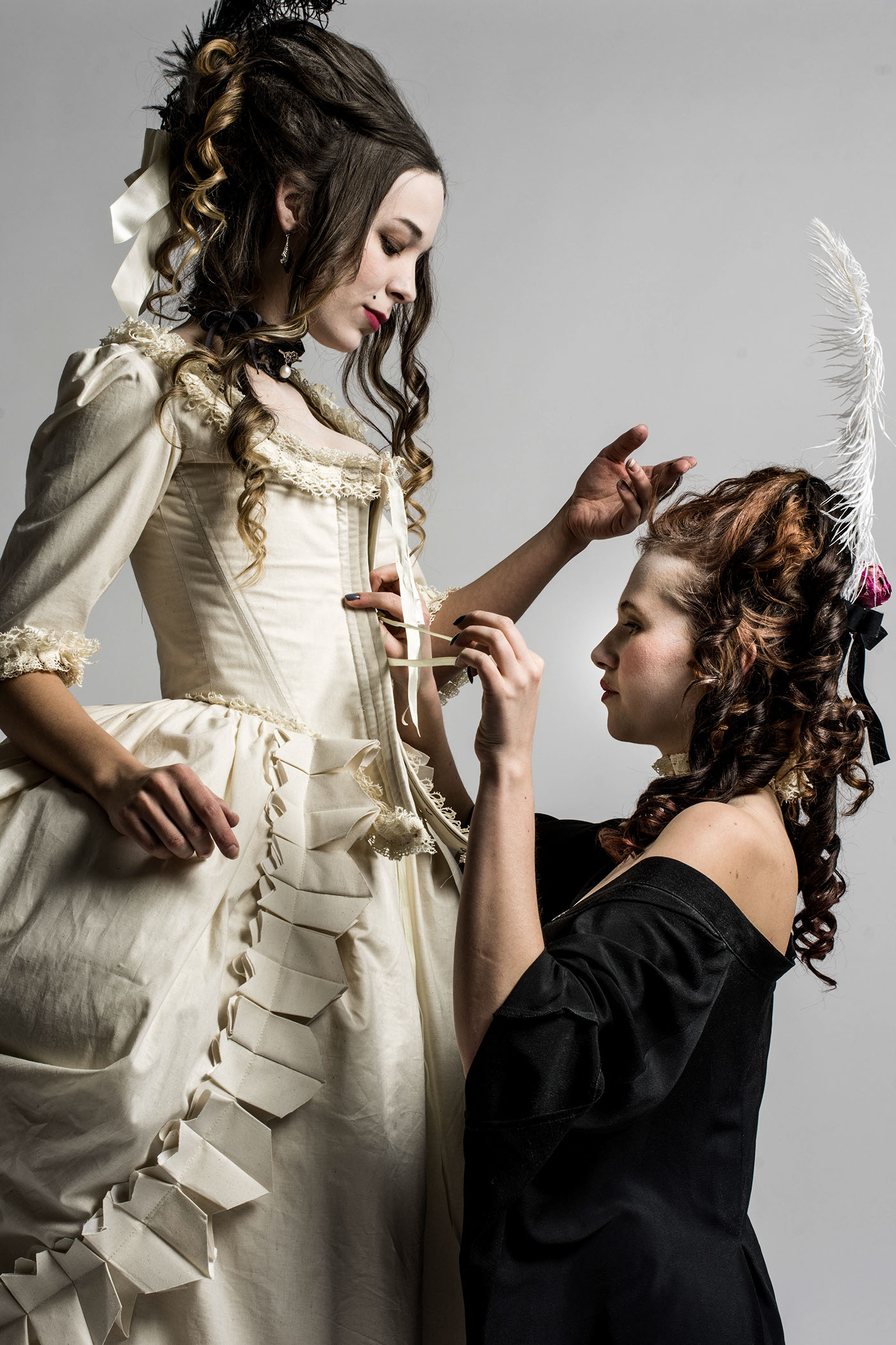18th Century Dress Replica on Behance