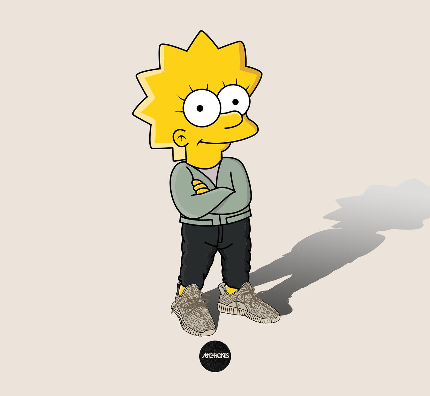 Fond D Ecran Bart Simpson Supreme