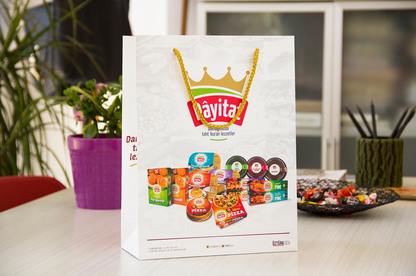çanta kurumsal öztürk Gıda payitat tasarım