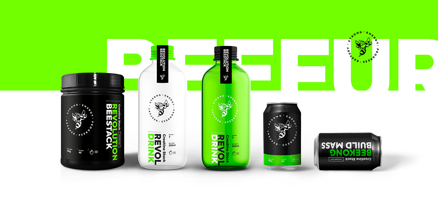 branding ,Brand Design,package design ,identity,concept,beefury,INTERVI,interactivevision,bee,product