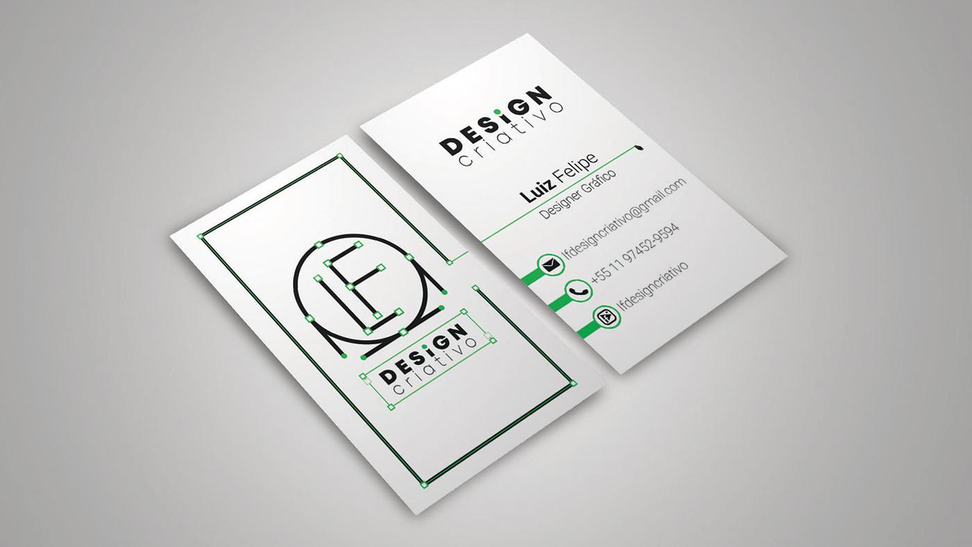 Logo Design design criativo Cartão de Visita design gráfico