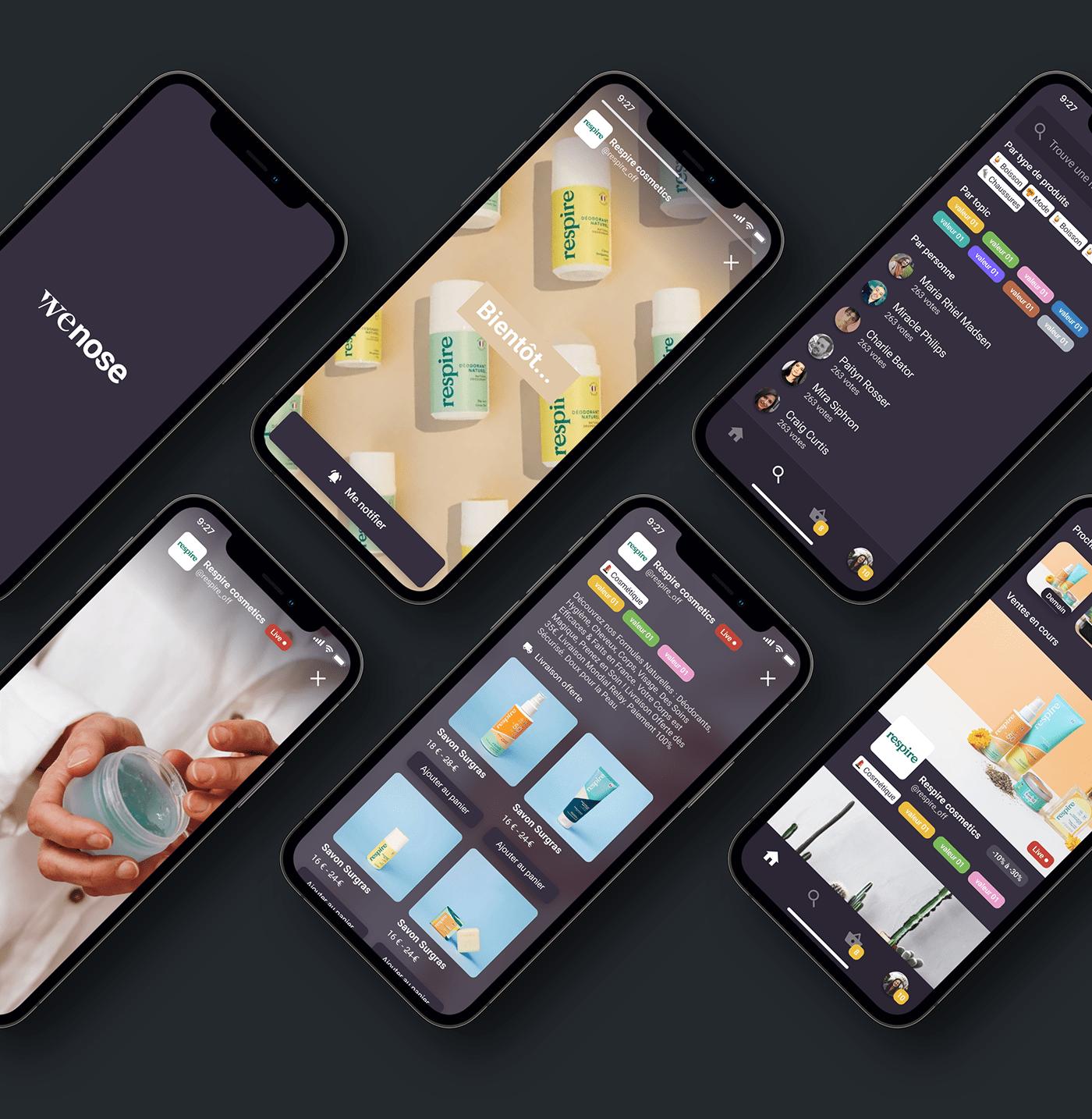 mobile Mobile app ui design UI/UX user interface ux
