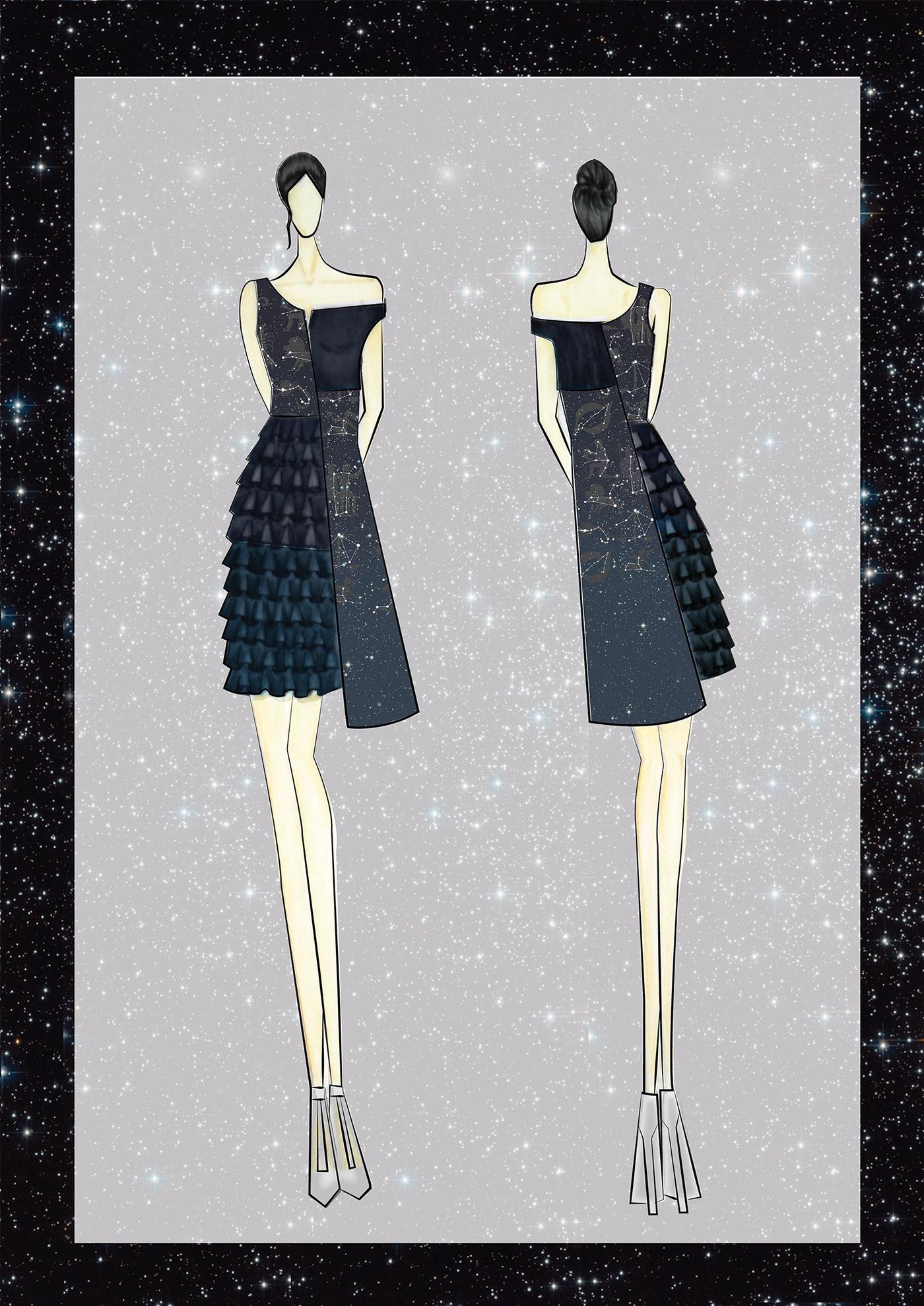 constellation high street wear A/W'17 Fashion