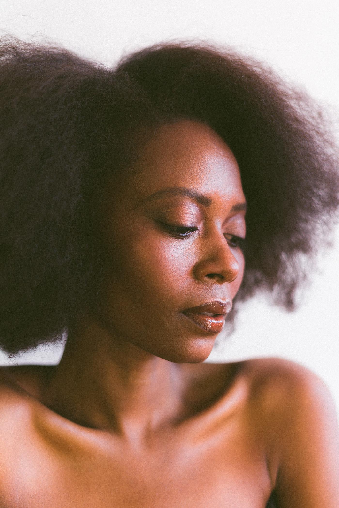 afro Afro Girl brown makeup dark skin Fashion  fashion shoot makeup model photoshoot portrait