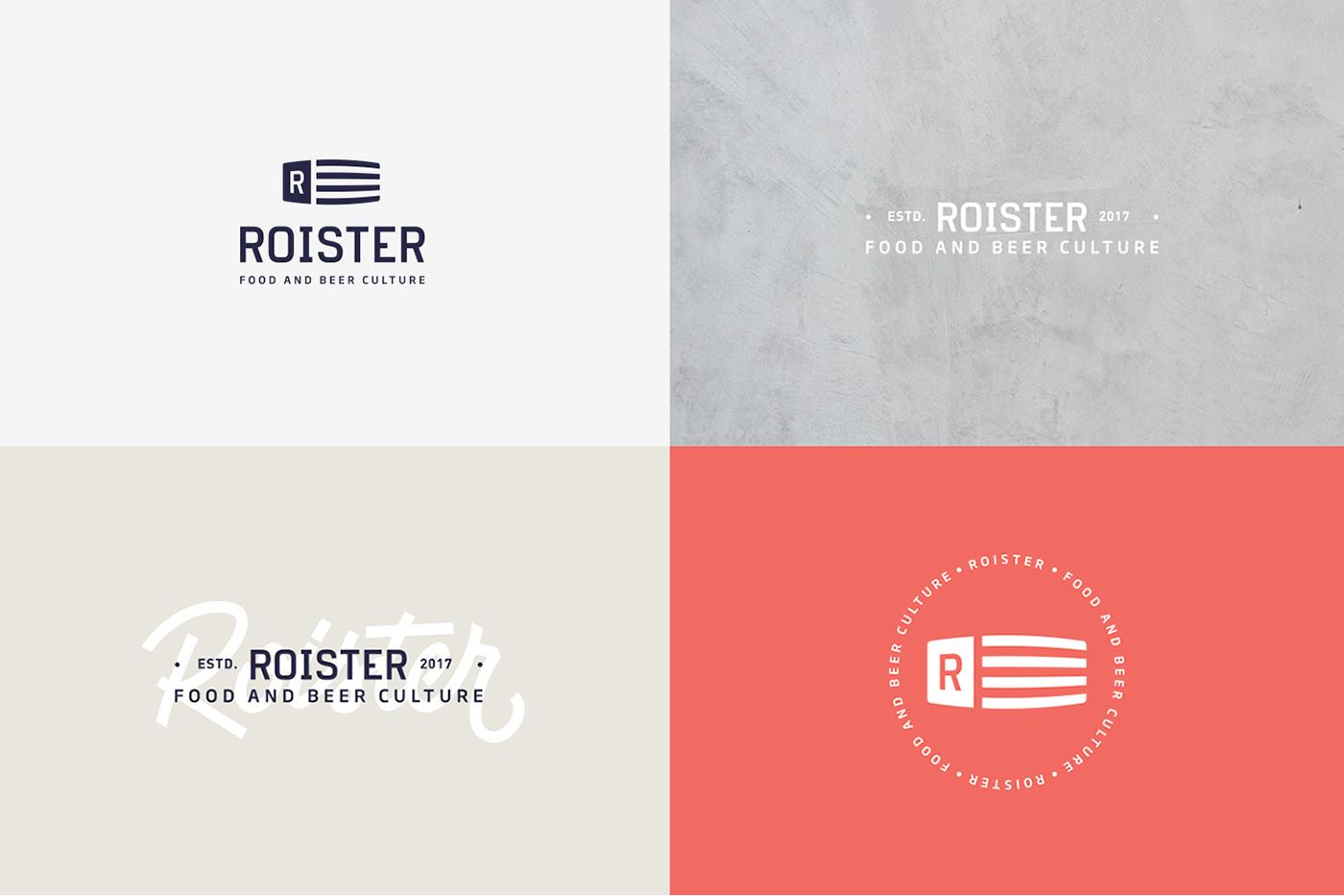 graphic design  branding  restaurant logo hamburger beer brewing menu Food  VALKIRIA