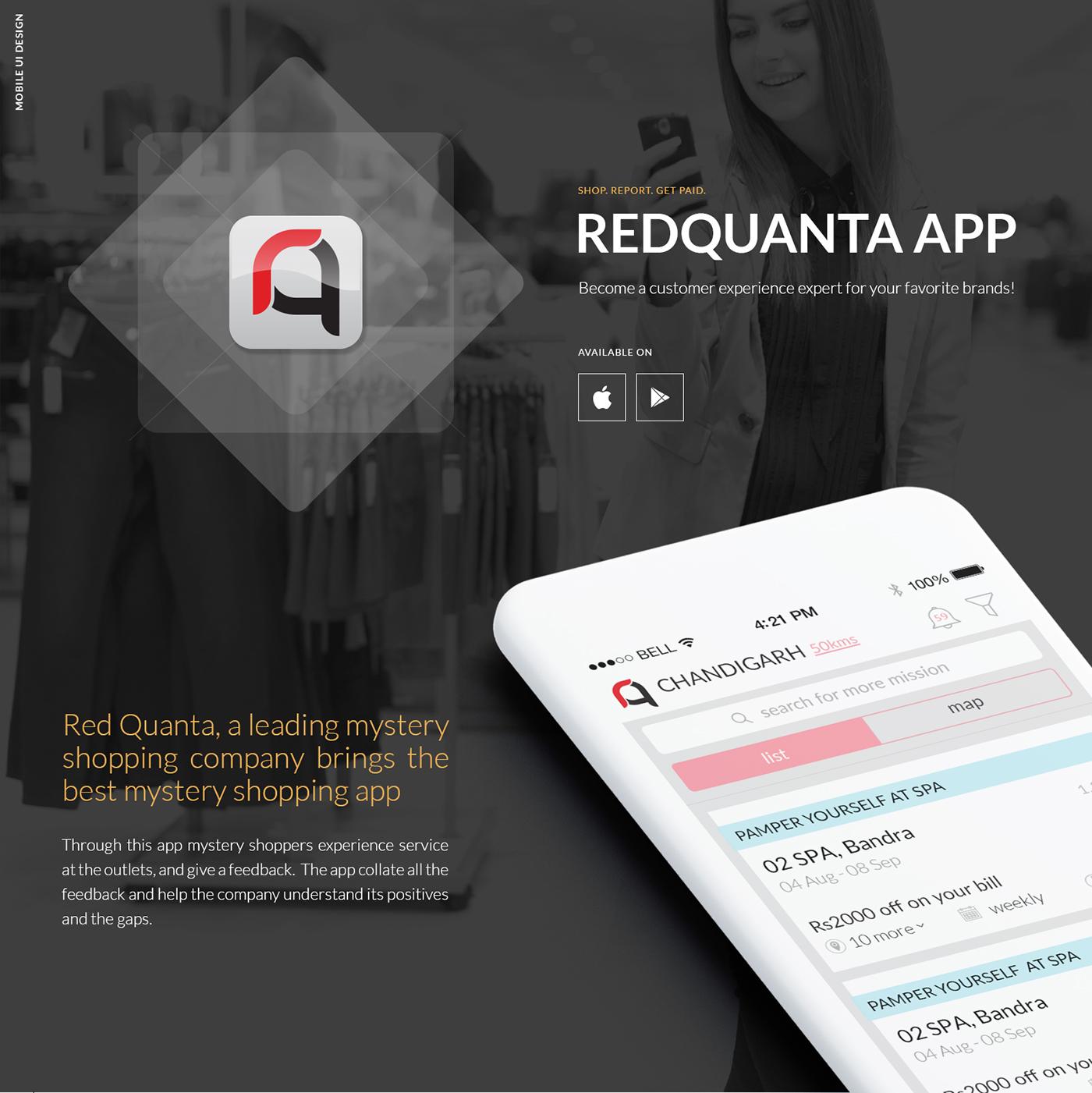 Requanta - Mobile App Design