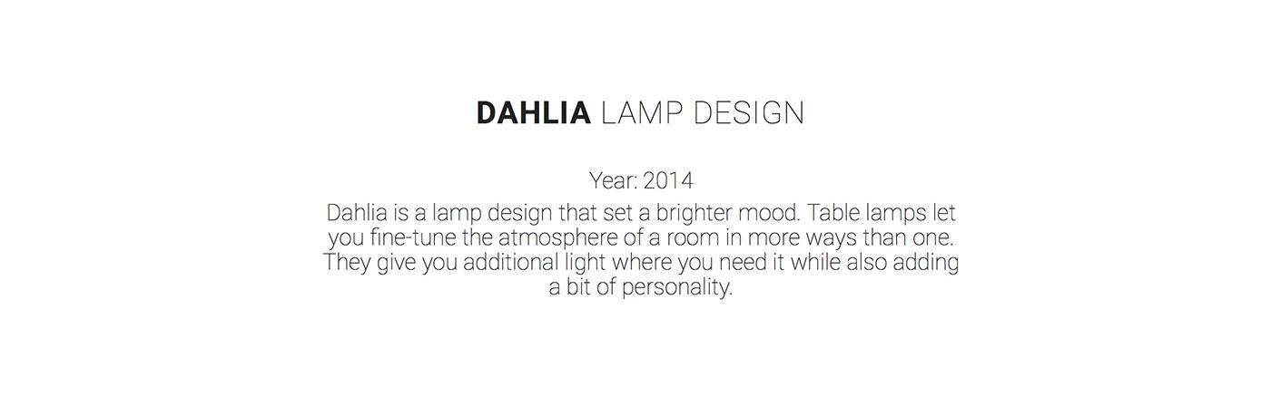 Lamp textiel wood light prototype student fotografie White