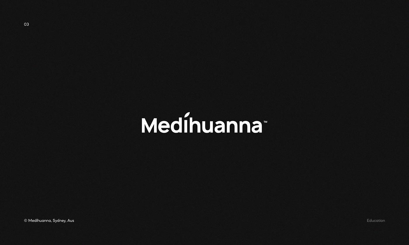 Logo for Medihuanna — accredited medicinal marijuana education provider based in Sydney/Australia.