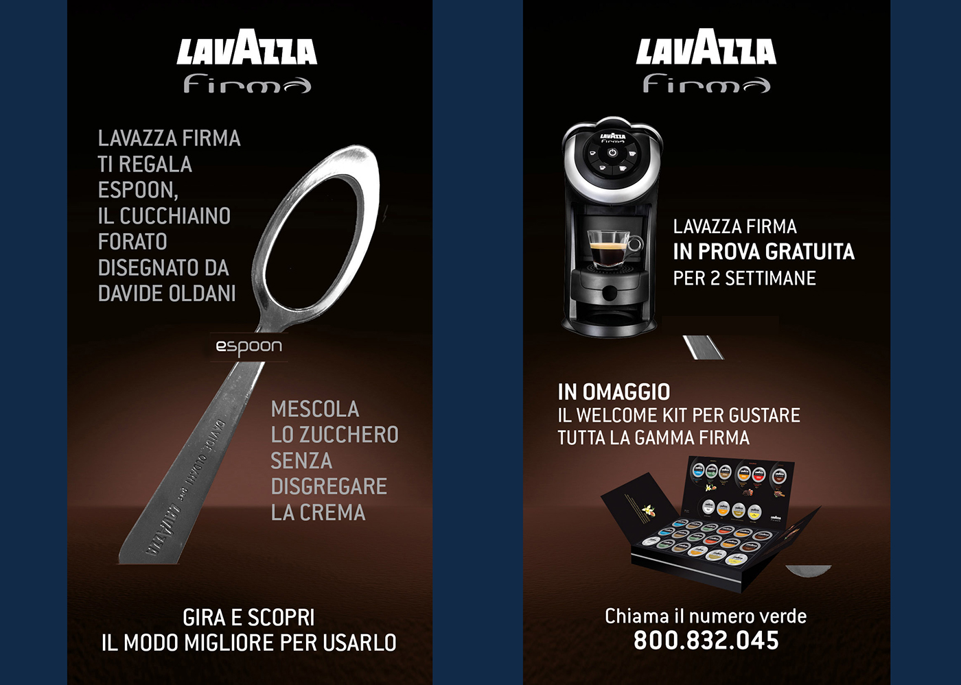 point of sales Promotion event corner Free trial special line Lavazza Lavazza Firma