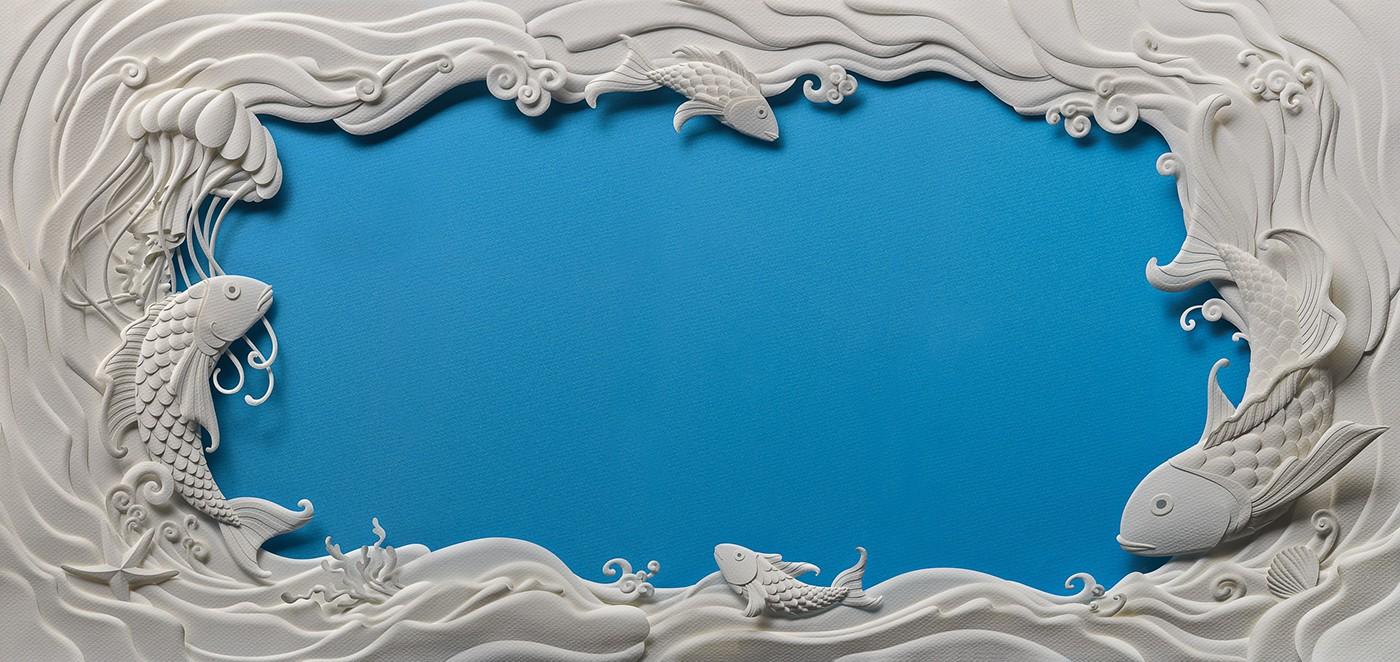 優秀的27張立體紙雕作品欣賞