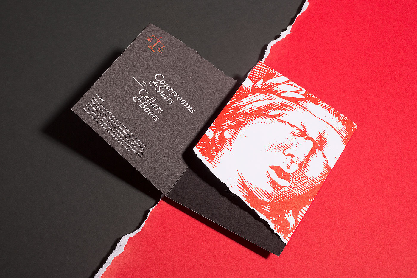 wine Label foil foil stamping hot stamping invite coin seal Lady of justice cabernet