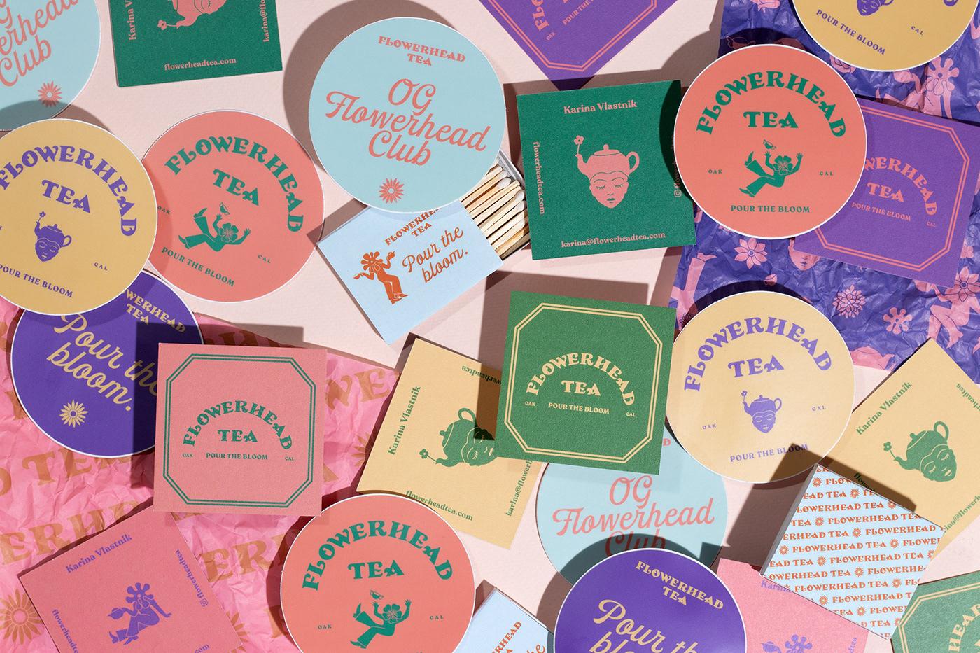 branding ,floral,flower,flowerhead,storytelling  ,tea,tea company,toro pinto,california tea,tea branding