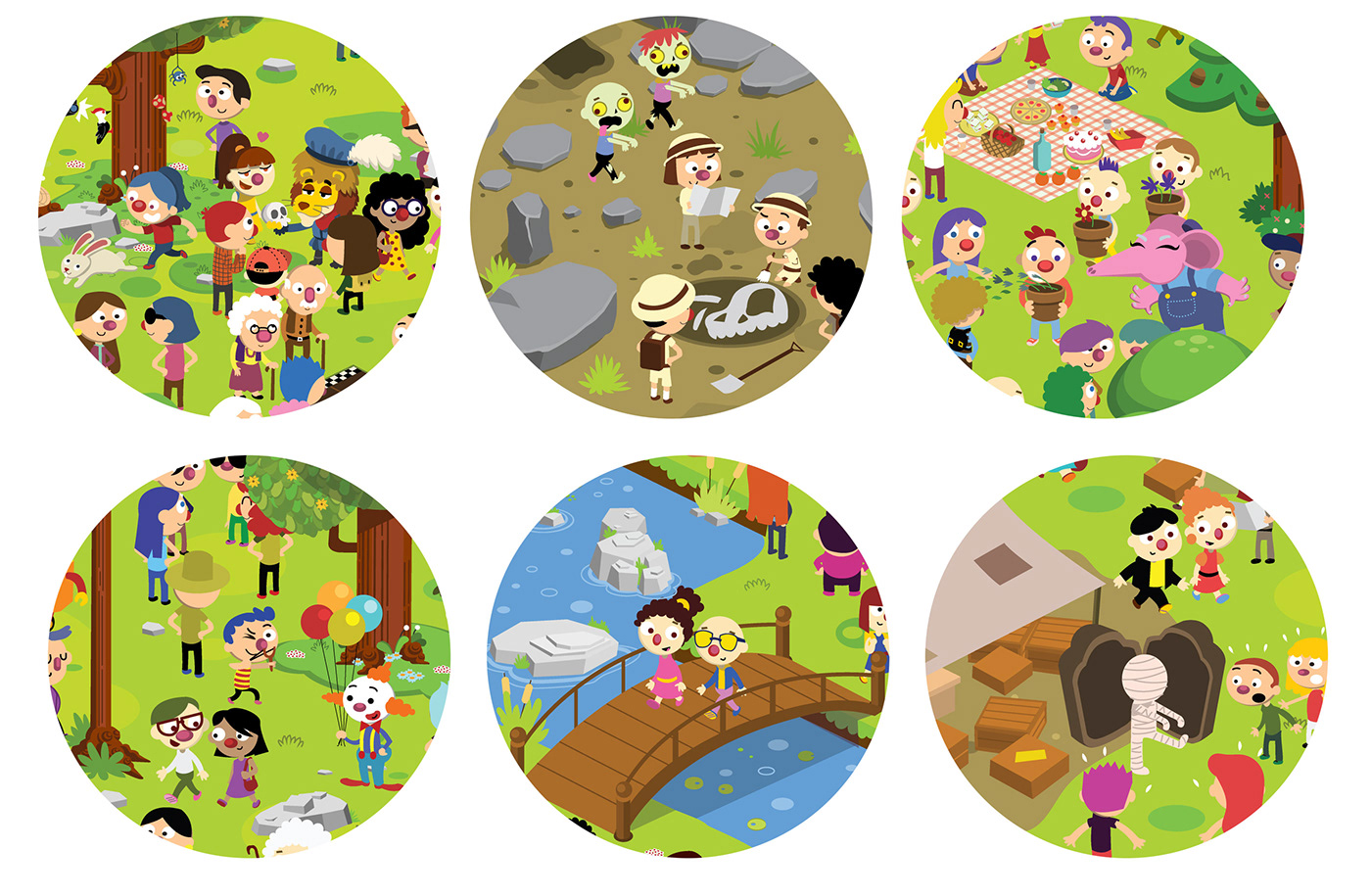 illustration characters