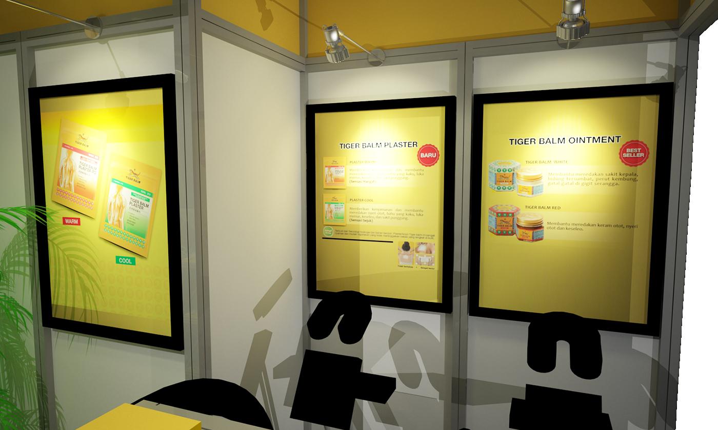 Launching Product Event Design Exhibition Design
