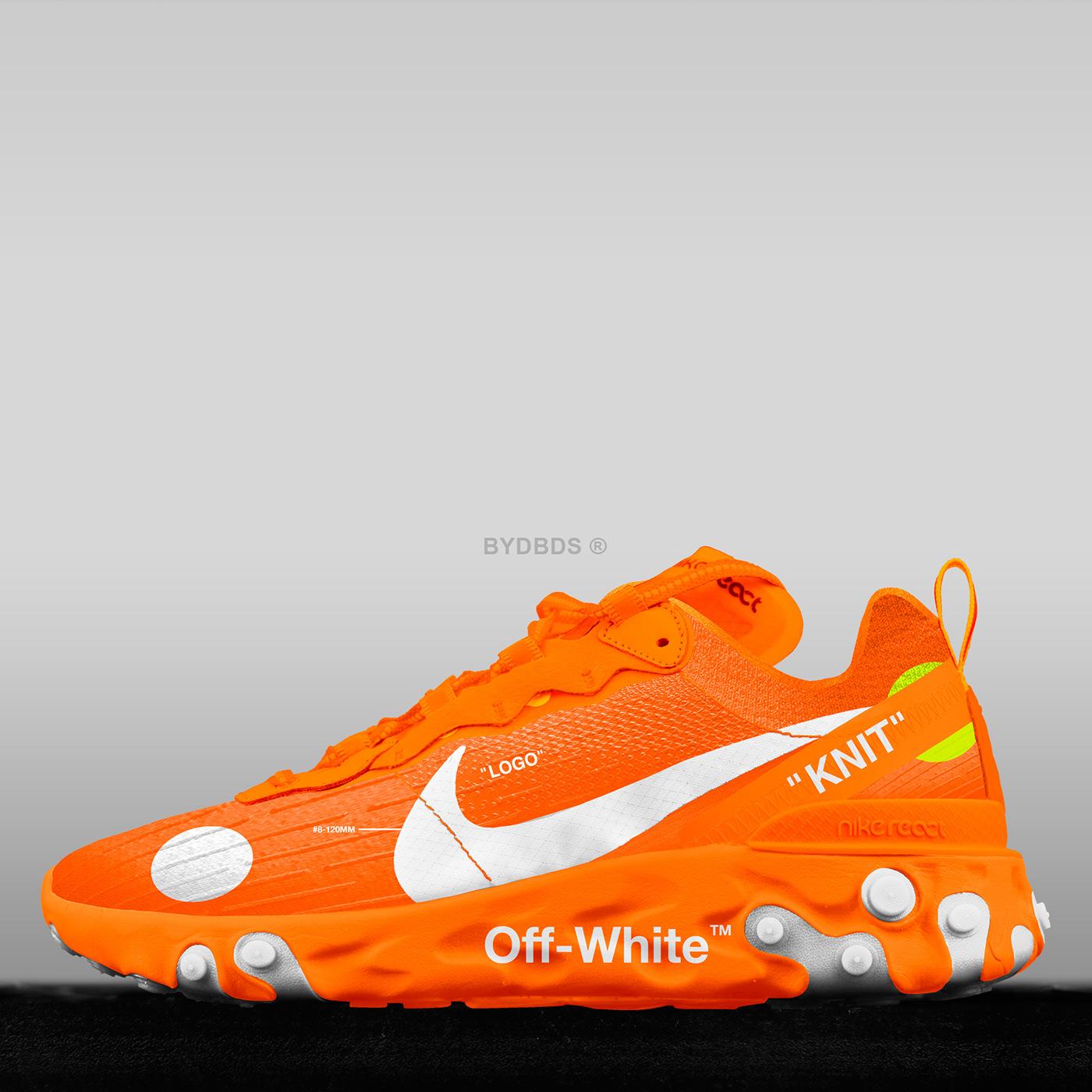 Nike React Element 87 x Off-White