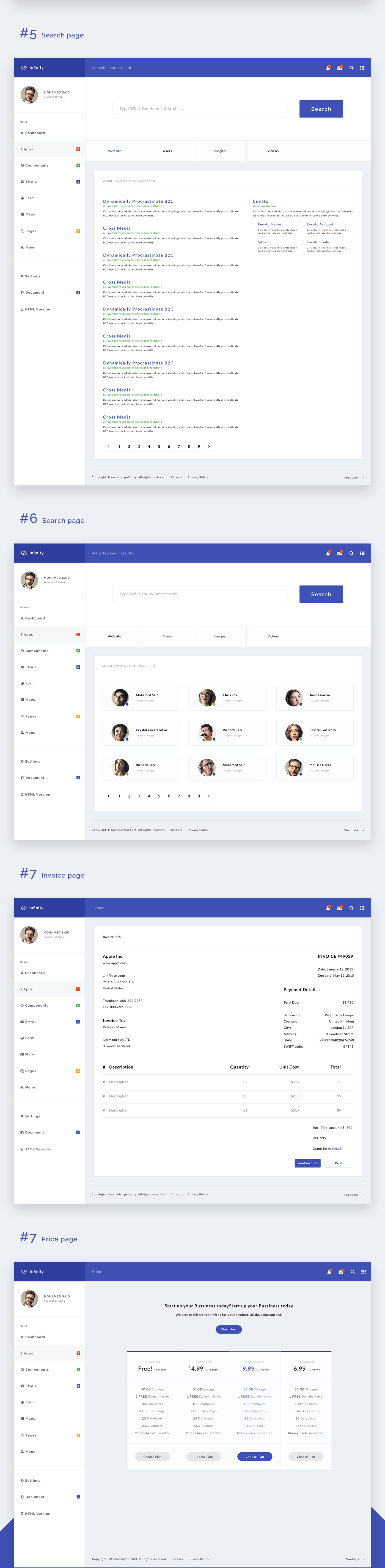 Infinity - Web Application Kit
