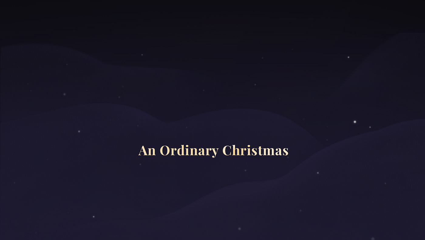 Christmas animation  ILLUSTRATION  design motion cel 2D Holiday ordinary folk
