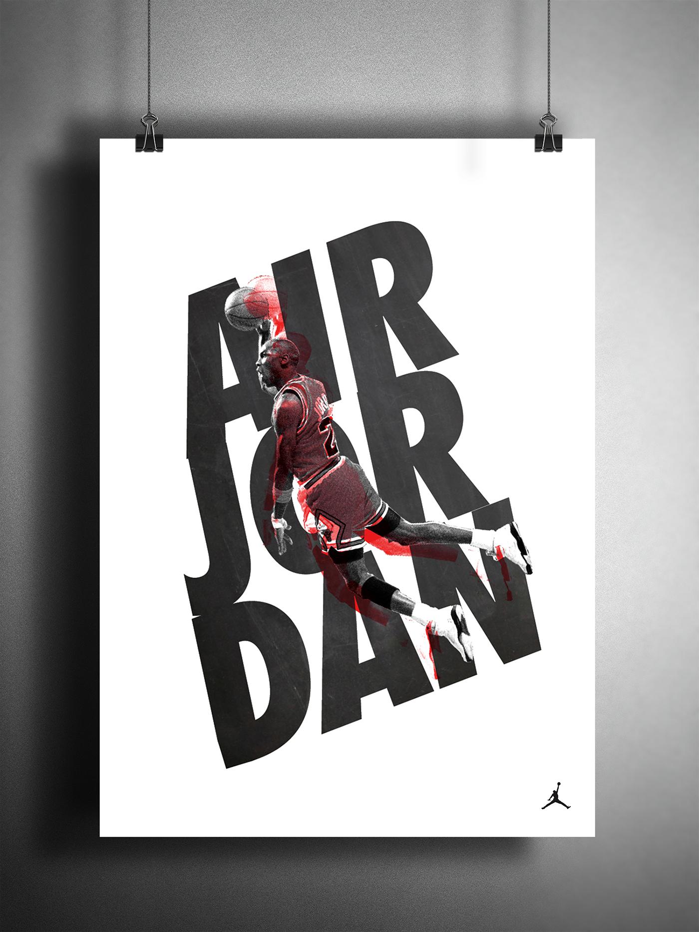Air Jordan Nike Poster On Behance