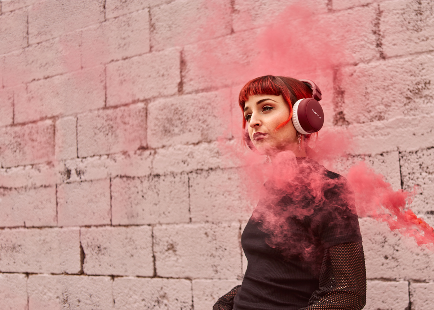 photo color product photoshop capture one Canon smoke Audio headphones model