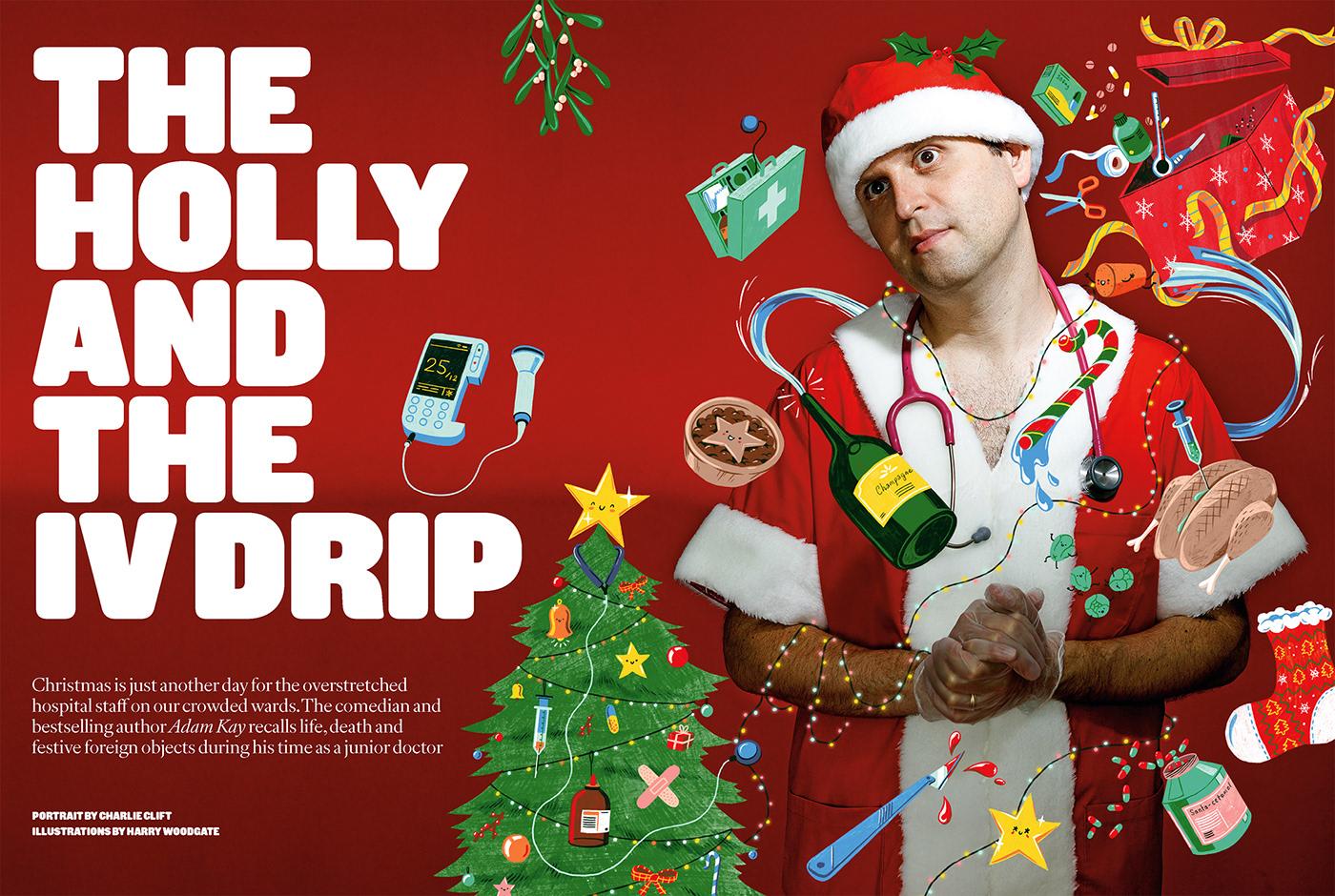 Image may contain: christmas tree and christmas