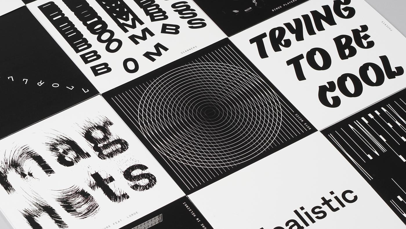 atrak musicindustry dj Recordcover Vinyl Sleeve music A-Trak fools gold records