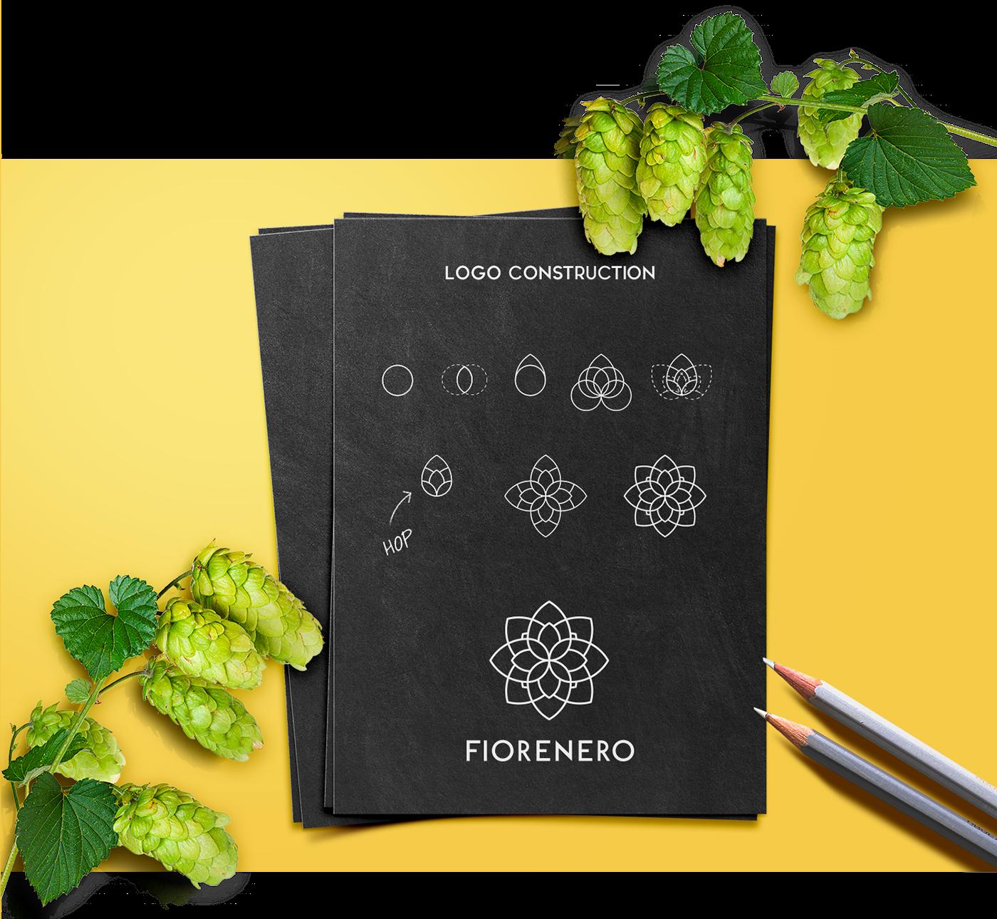 Fiorenero Logo And Lable Design On Behance