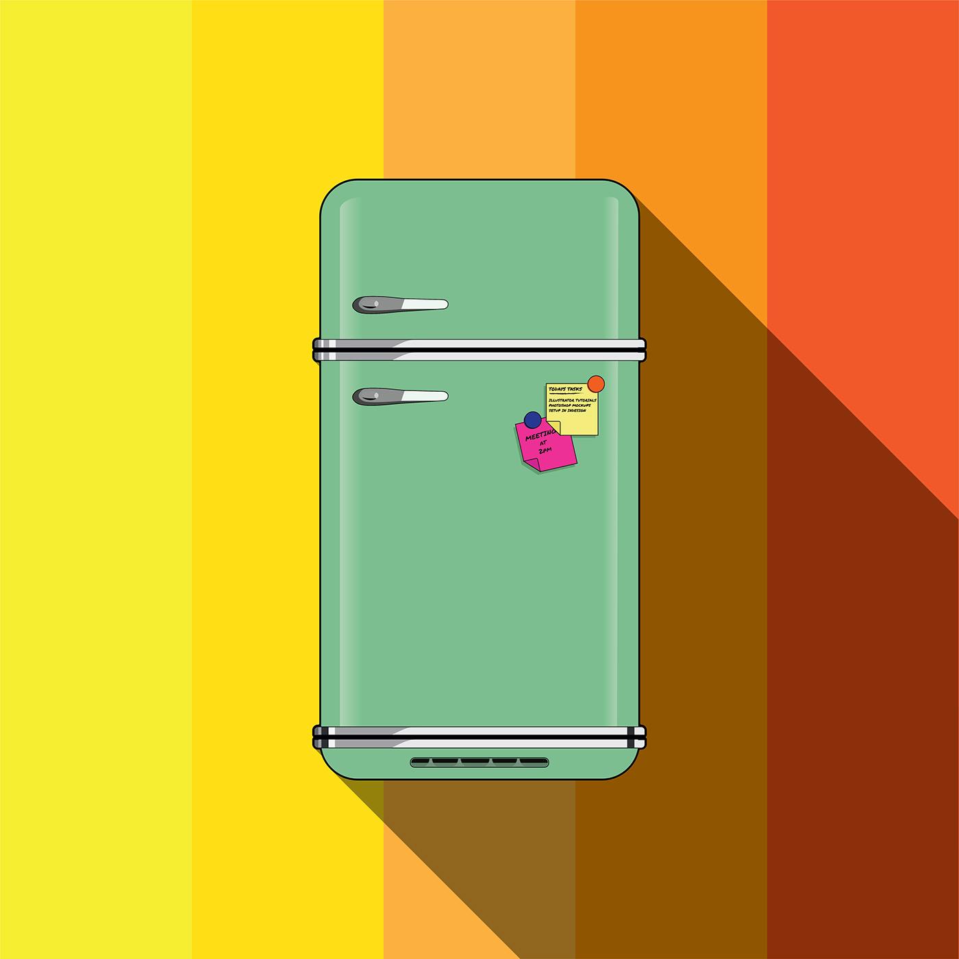 Smeg fridge on behance for Smeg fridge