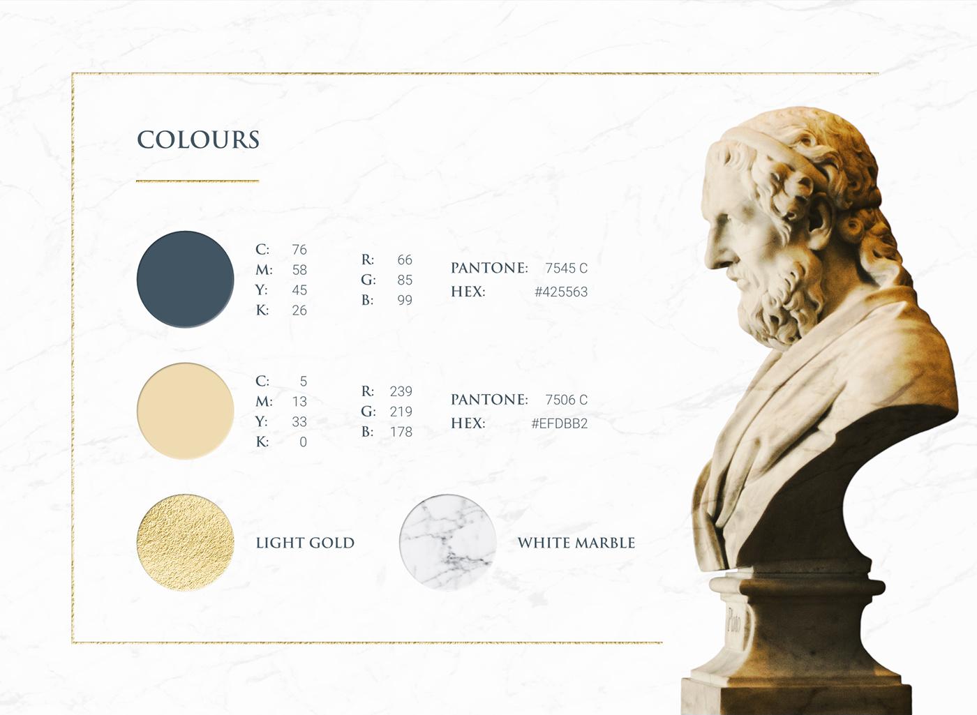 brand logo visual identity key visual logofolio Logo Design Signet lawyer advocate gold