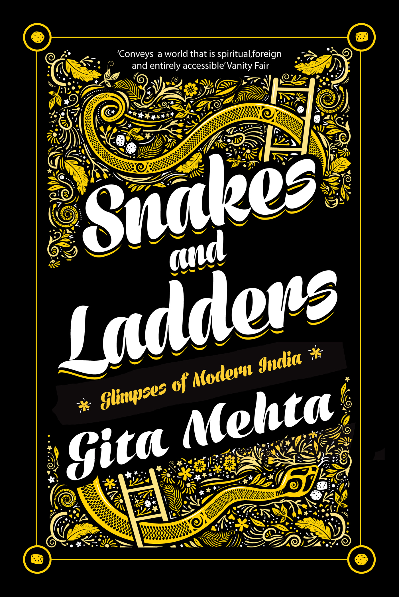 Gita Mehta karma cola raj River Sutra snakes and ladders India Indian Author penguin books indian vibrant Indian Writing publishing   book cover cover design pattern