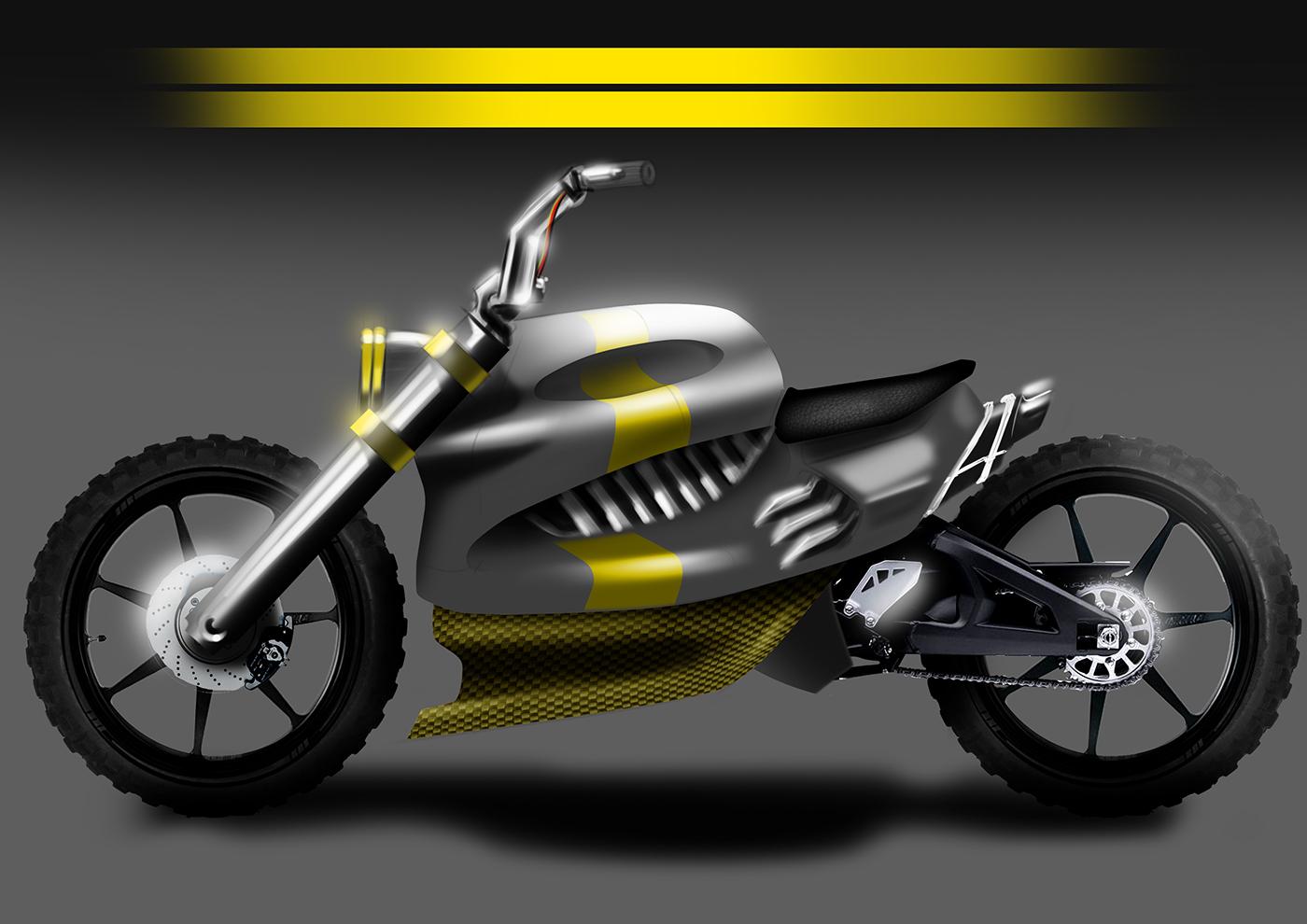 Motorcycle photoshop