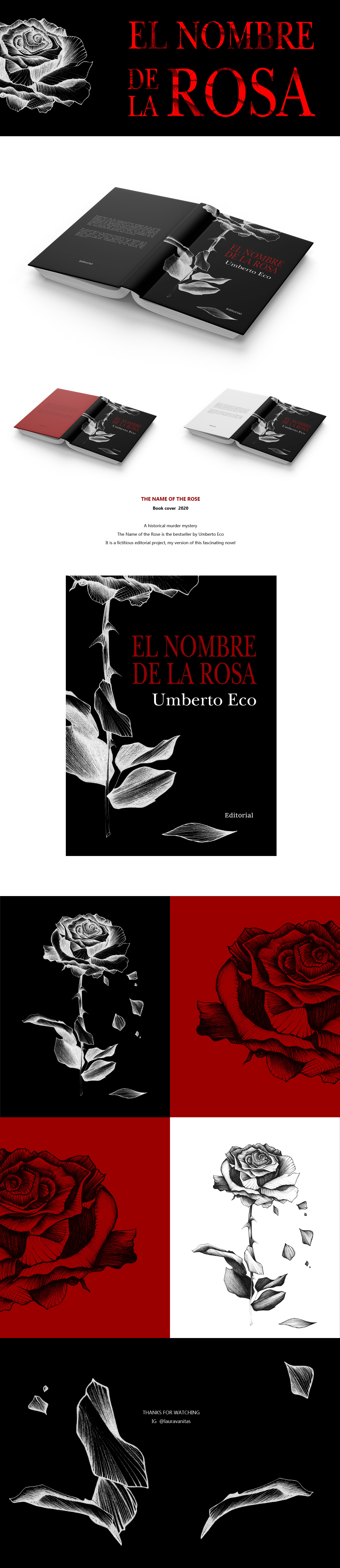 book bookcover books cubierta editorialdesign flower ILLUSTRATION  libro rosa rose