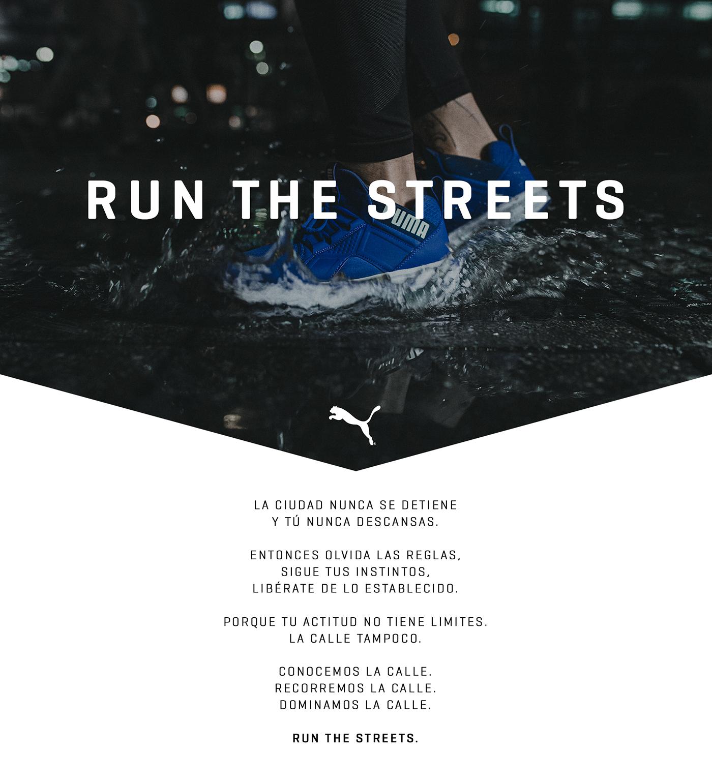 PUMA - Run the streets on Behance c49defdd5c39