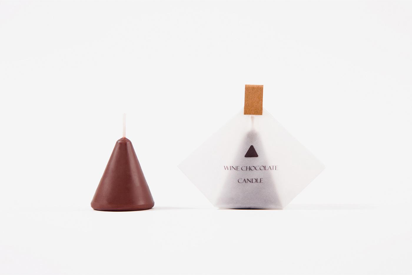 蜡烛,巧克力