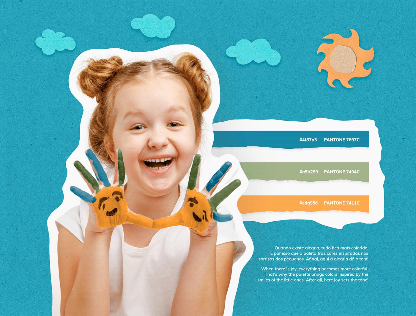 posicionamento Brincadeira store loja criança children logo branding  marca brand