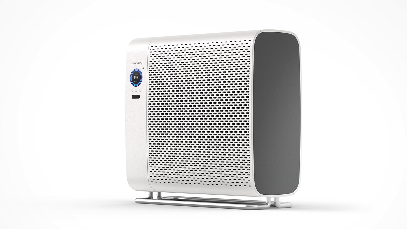 Coway filter air air cleaner purifier White product ux UI design