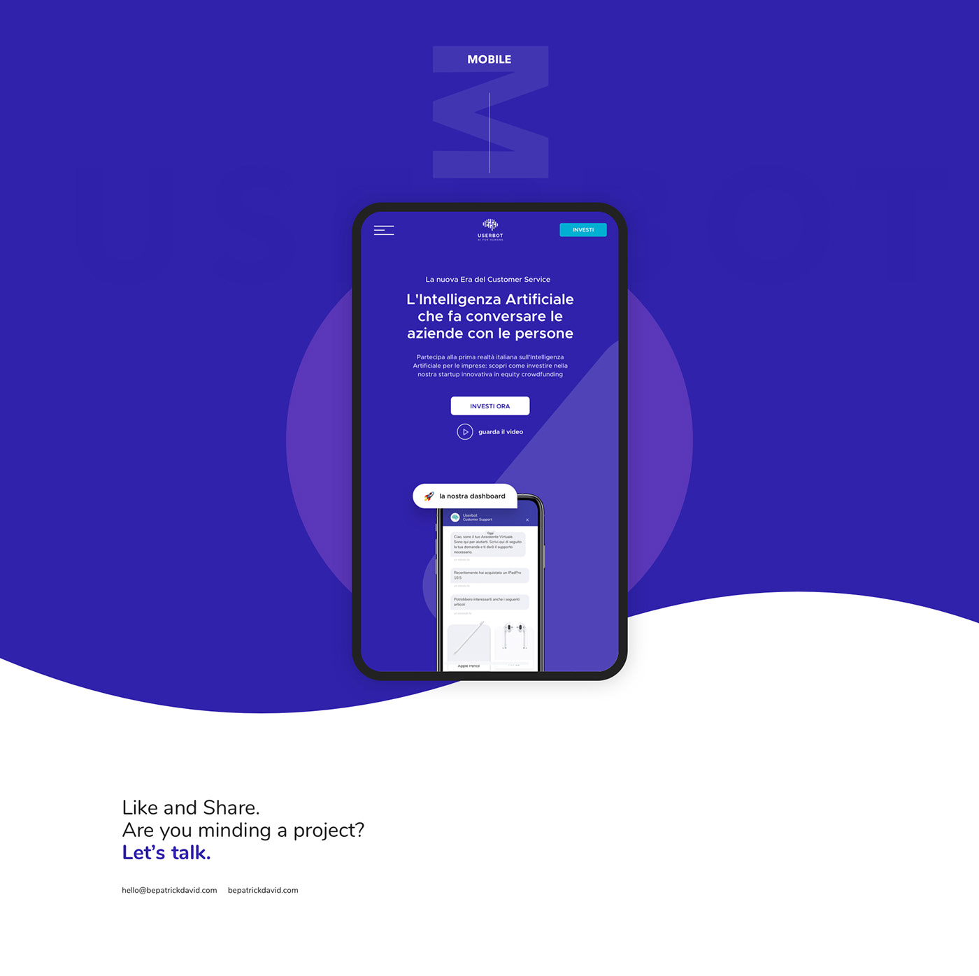 UI ux Web Design  landing page One Page artificial intelligence ai Art Director Website Interface