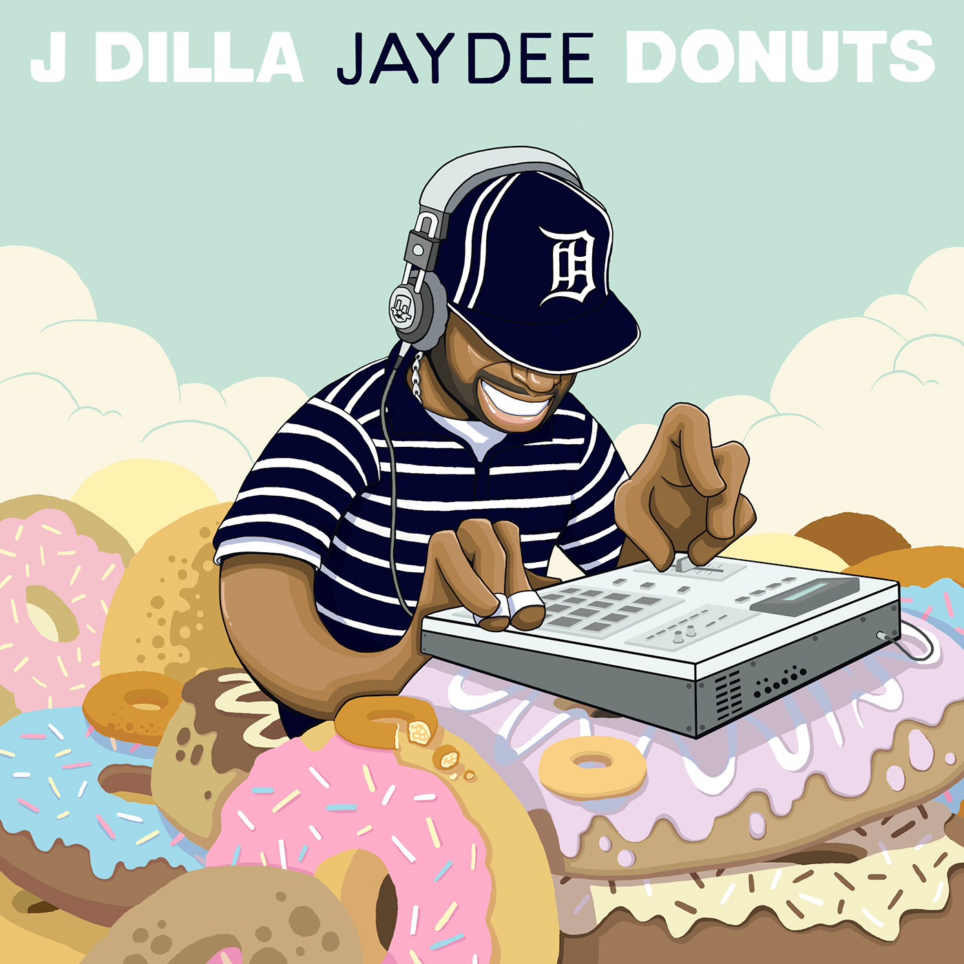 J Dilla Donuts Cover on Behance