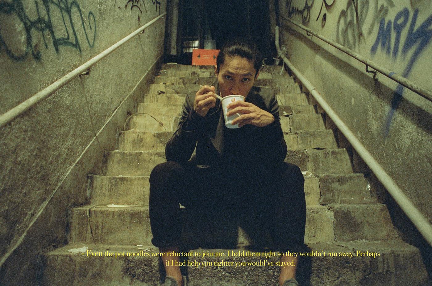chunking express conceptual Film   Hong Kong medium format wong kar wai