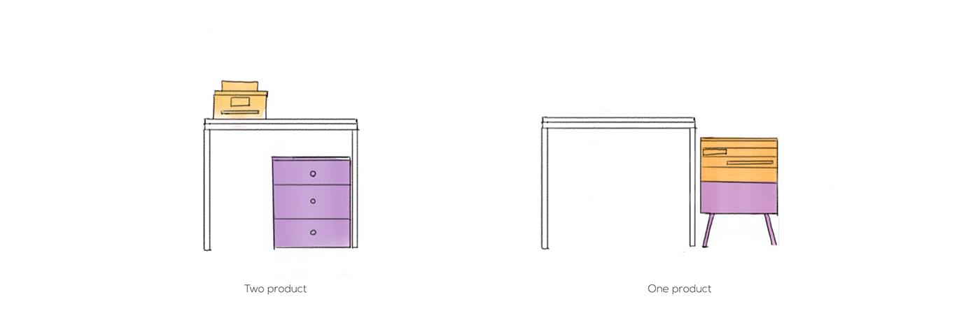 cabinet Copier drawer furniture household multifunction printer scanner designerdot dot