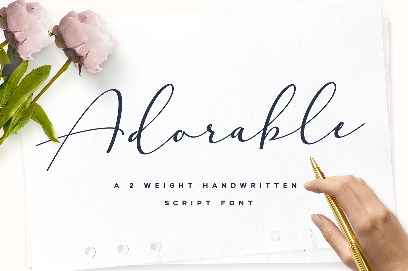 Adorable Handwritten Script Font Is A Modern And Elegant With Wide Right Slanted Touch That Makes It Natural Pleasant