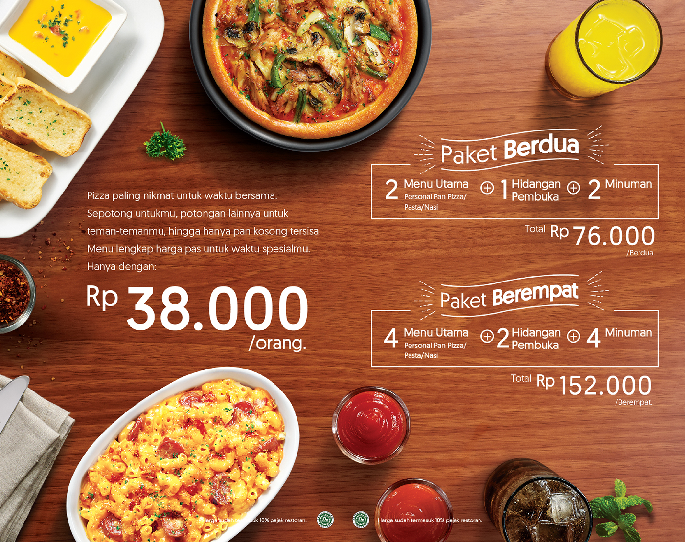 Pizza Hut | Sensasi Delight Menu Book on Behance