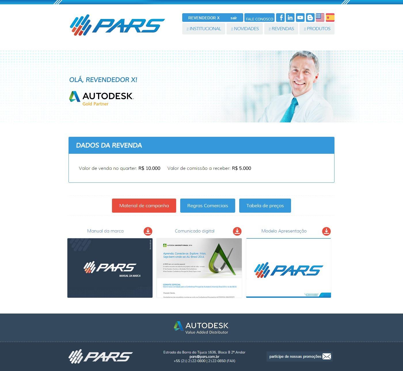 pars adobe Autodesk representative Rio de Janeiro Brazil