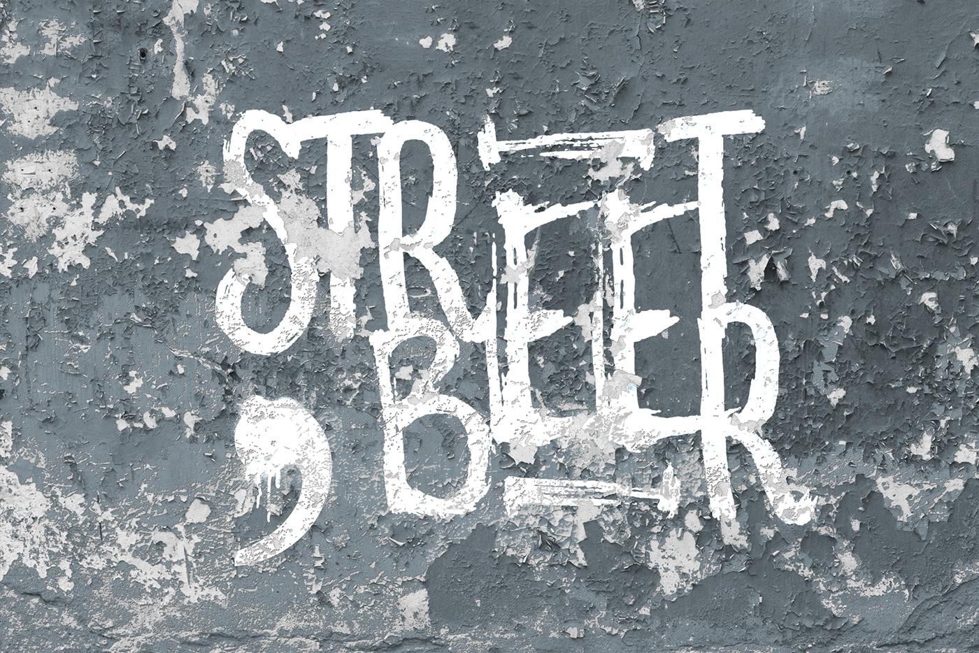 Label brand ILLUSTRATION  sea beer sea creative basileadv Birra Street Art  artigianale