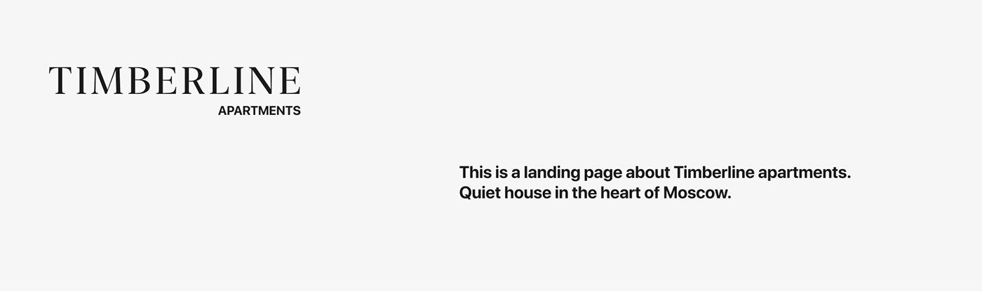landing ux/ui design Web web-design