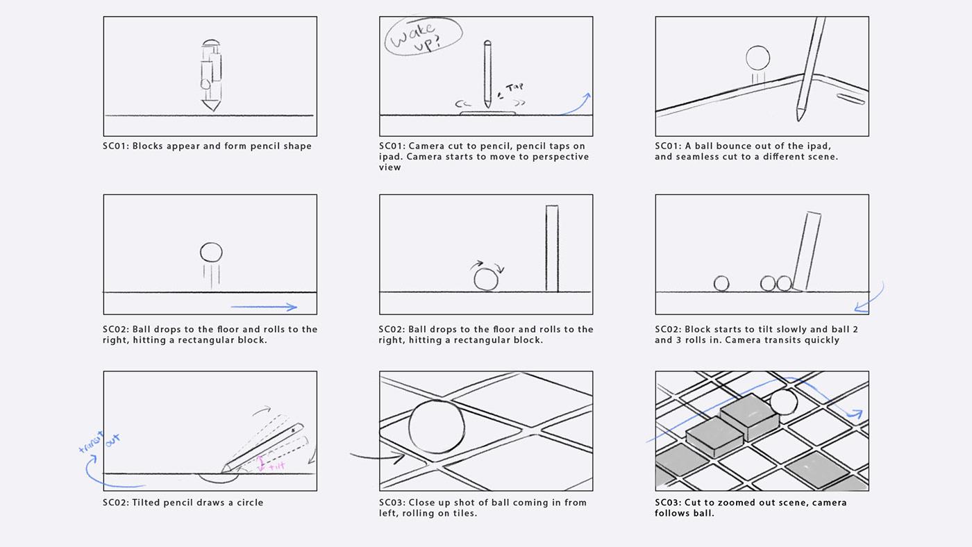 motion graphics ,motion design,apple pencil,apple,TV Commercial,tvc,product commercial,ads,commercial,3d motion graphics