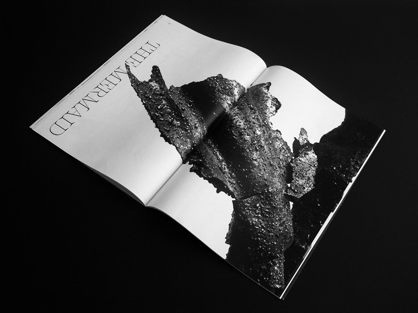 Booklet,catalog,editorial design ,sculpture,black and white,editorial,metal,portfolio,trend,brutal