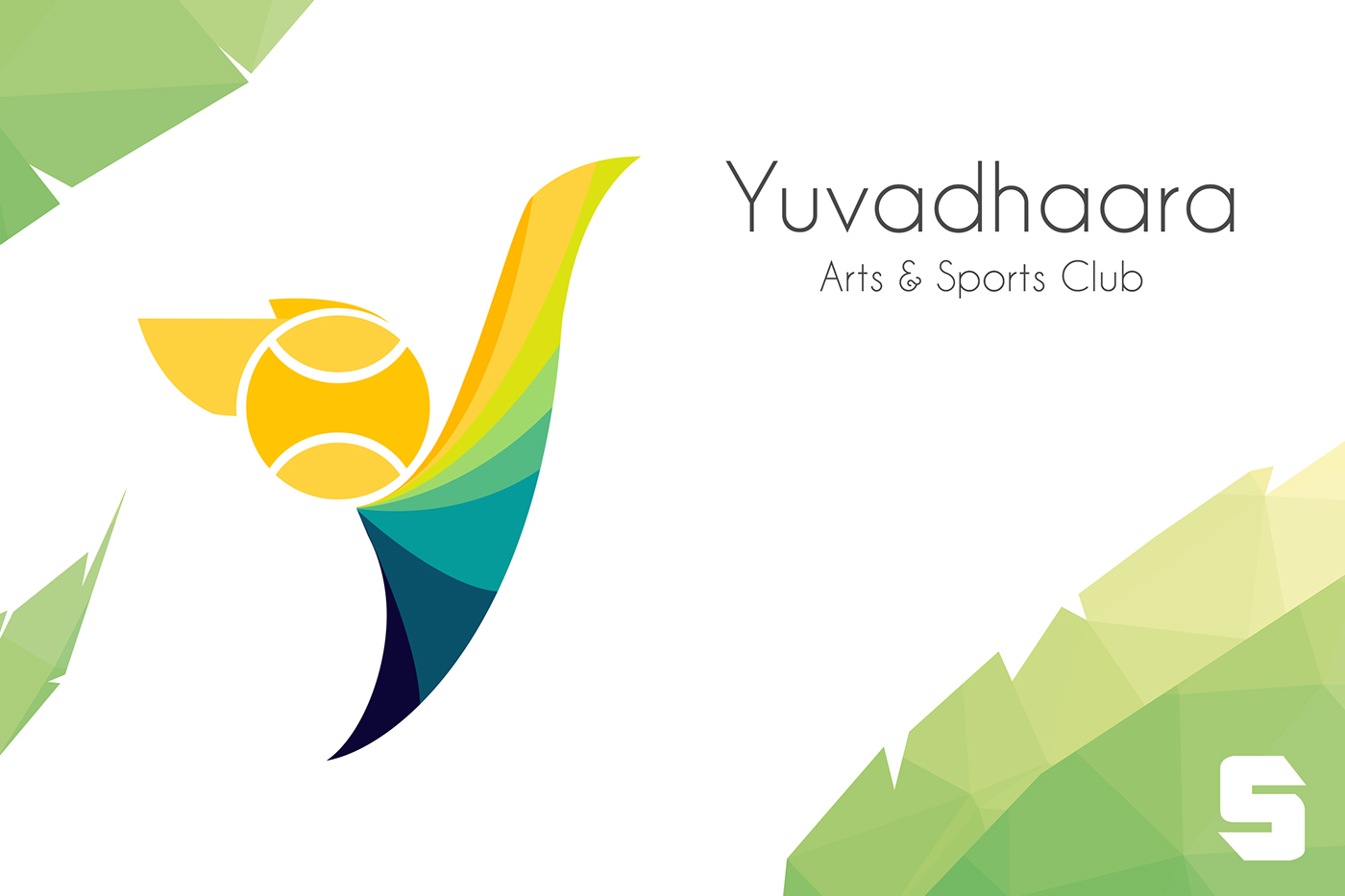 yuvadhaara arts amp sports club logo on behance